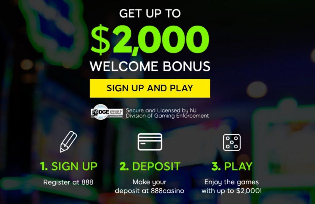 Welcome deposit bonus
