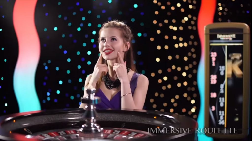 An example of live roulette.