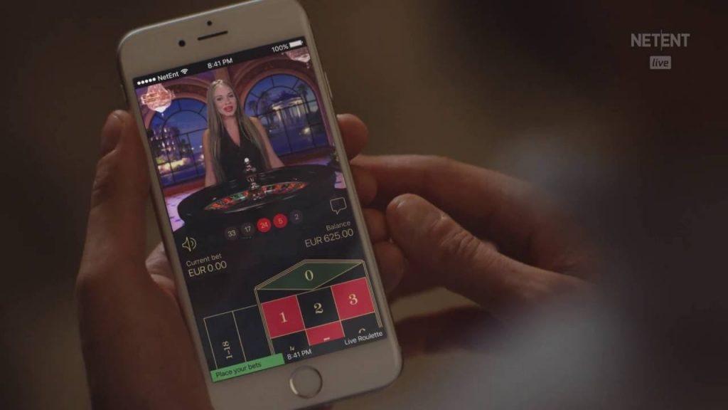 Live gambling for mobile.